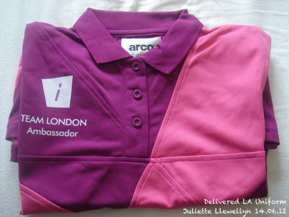 London Ambassador Uniform Delivered