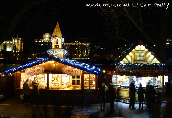 Xmas Markets along The Thames